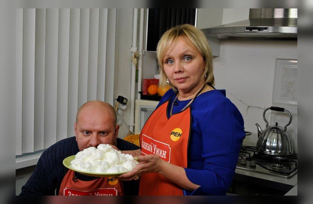 Экстрасенс Илона Калдре участвует в кулинарном шоу
