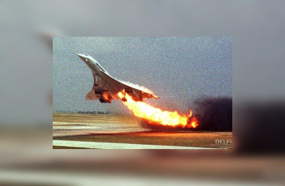 Concorde'i viimane lennuüritus. Foto Toshihiko Sato, AP