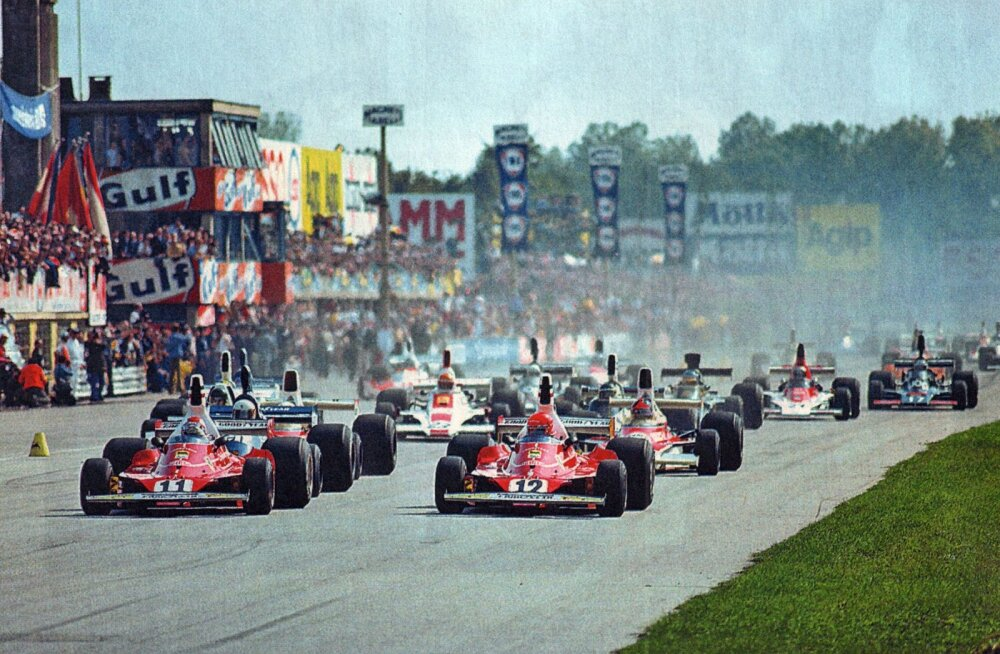 F1 aastal 1975: Niki Lauda uskumatu aasta (kuid siis kukkus Graham Hill lennukiga alla)