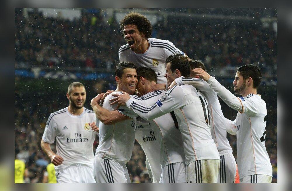 VAATA VÄRAVAID: Real ja PSG võtsid veenvad võidud, Ronaldo ja Ibrahimovic said vigastada