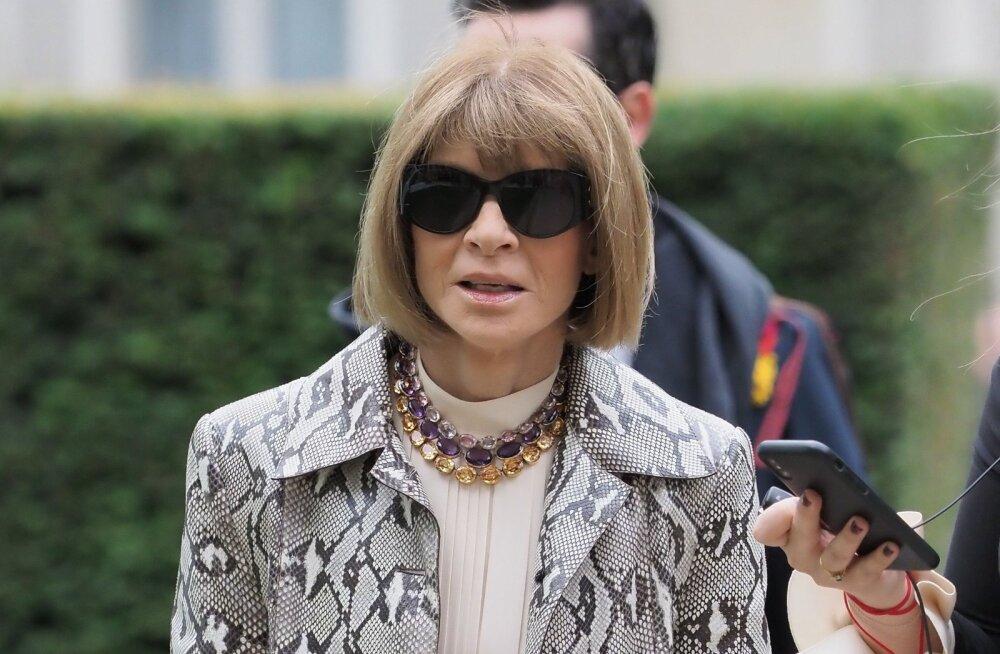 Legendaarne Vogue'i peatoimetaja Anna Wintour avaldab, miks ta ei ole aastakümneid oma <em>bob</em>-stiilis soengust loobunud