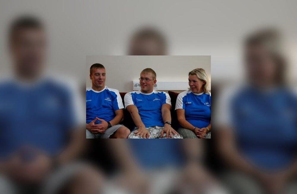President Ilves tänas Eesti paraolümpialasi