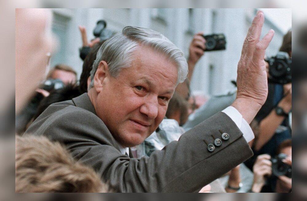 Вклад Бориса Ельцина в восстановление независимости Эстонии предлагается увековечить памятным знаком