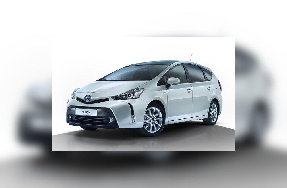 Toyota värskendas hübriidi Prius+
