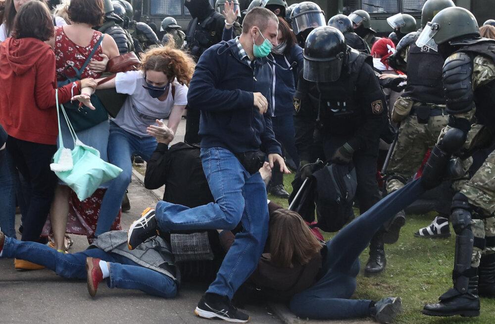 Valgevene siseministeeriumi teatel vahistati eile 774 inimest