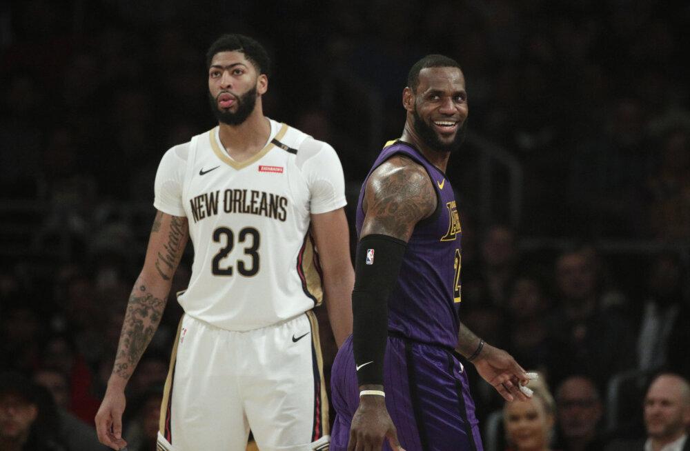 Pöördeline vahetustehing NBA-s: Anthony Davisest saab Los Angeles Lakersi mängija!
