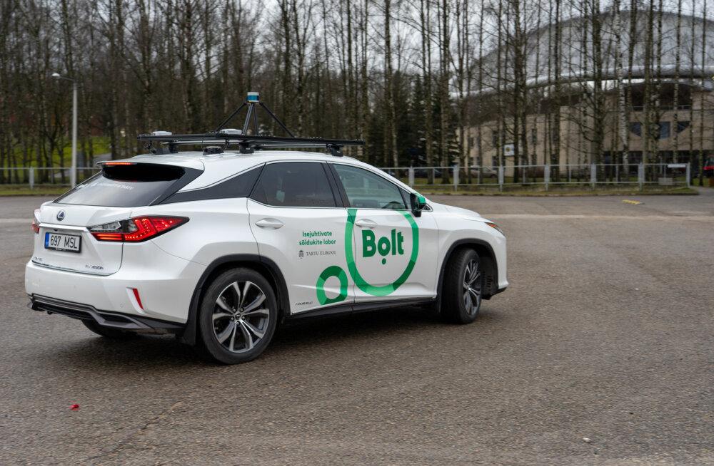 Tartu ülikool ja Bolt tutvustasid isejuhtivat autot - millal see sõitma hakkab?