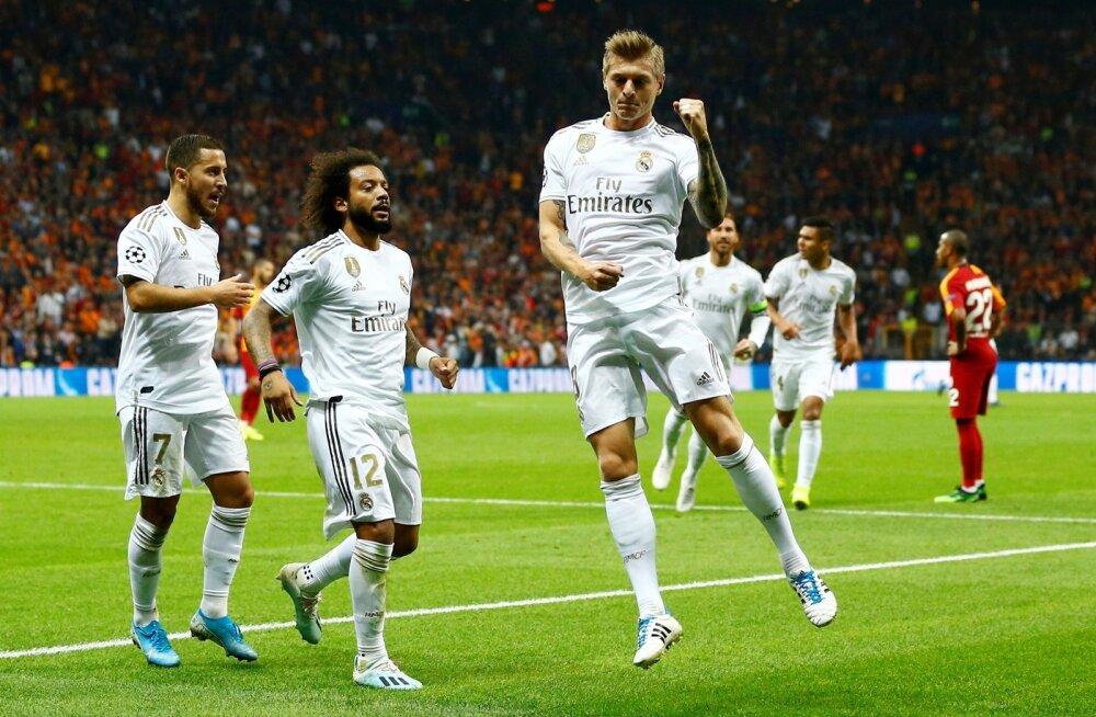 Madridi Realil tuleb tänavu raskelt, kuid vajalikul hetkel ikka tuleb.