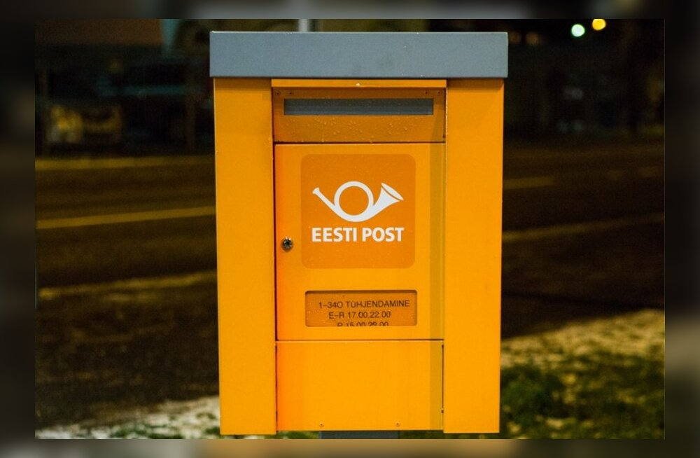 Jõulueelne sagin Eesti Postis