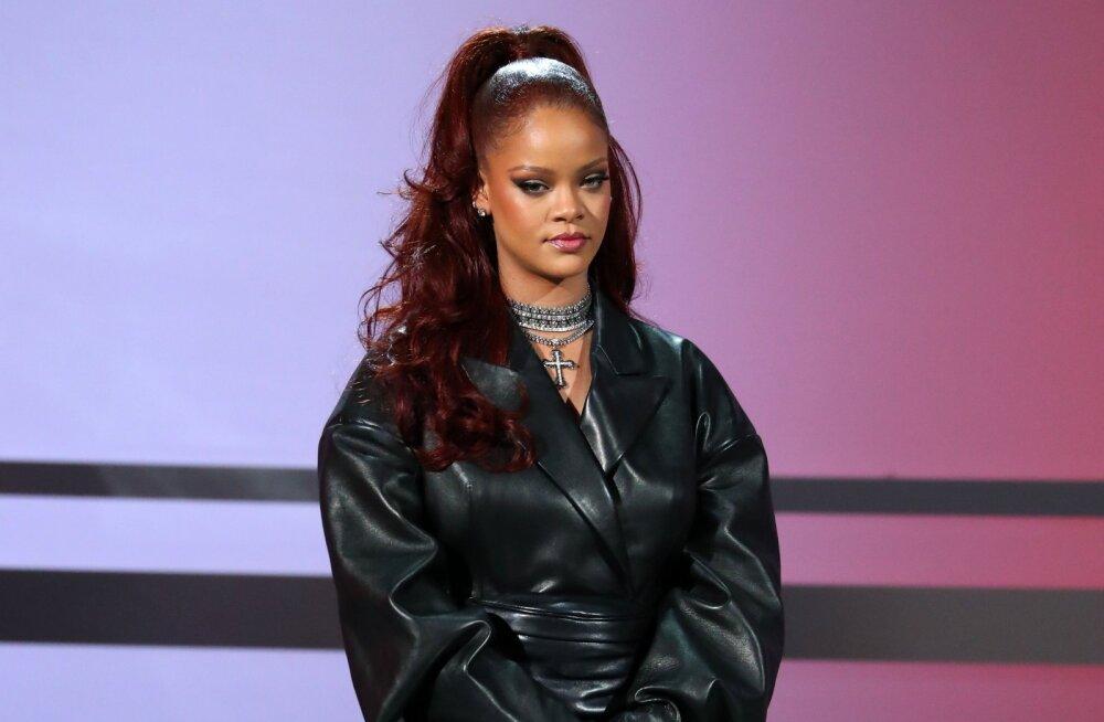 Saladus paljastatud: kuidas Rihanna end kõige raskematel päevadel enesekindlana tunneb