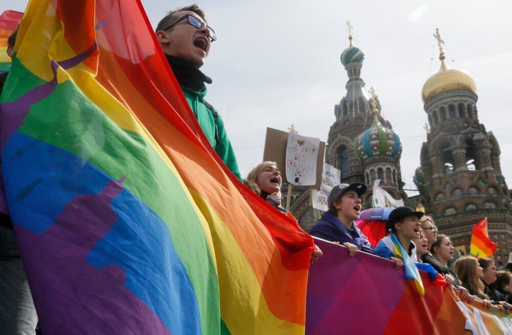 Venemaa, gei