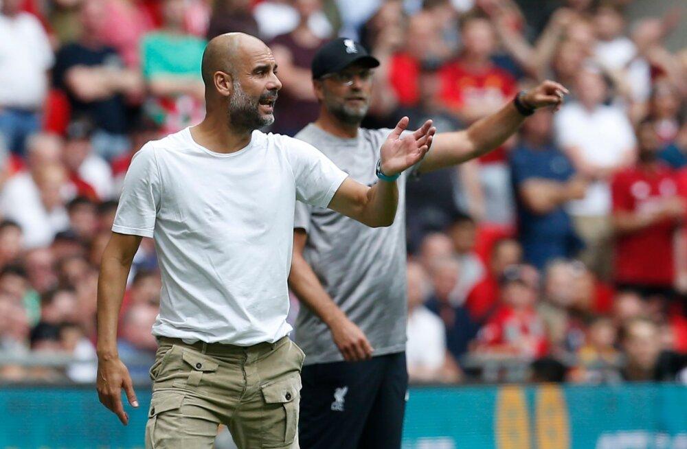 Guardiola ja Klopp