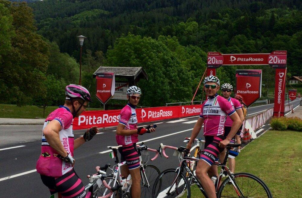 Giro d`Estonia: Sõjaväekord aitab hobiratturil pedaalida 3000 kilomeetrit
