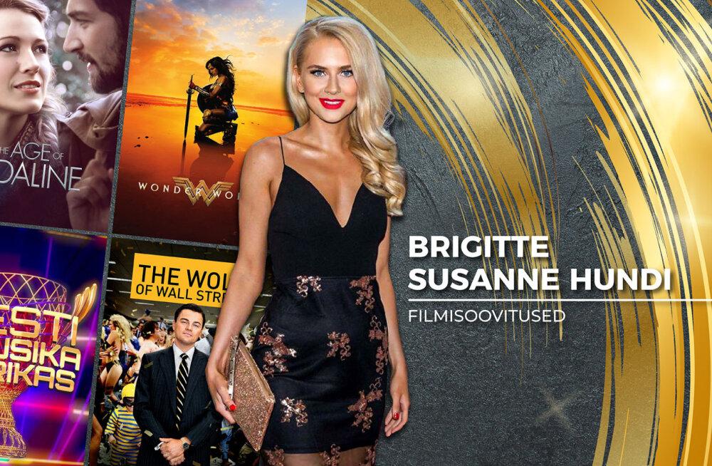 Brigitte Susanne Hundi 18 soovitust: mis filme, seriaale ja saateid vaatab saatejuht, näitleja ja blogija?