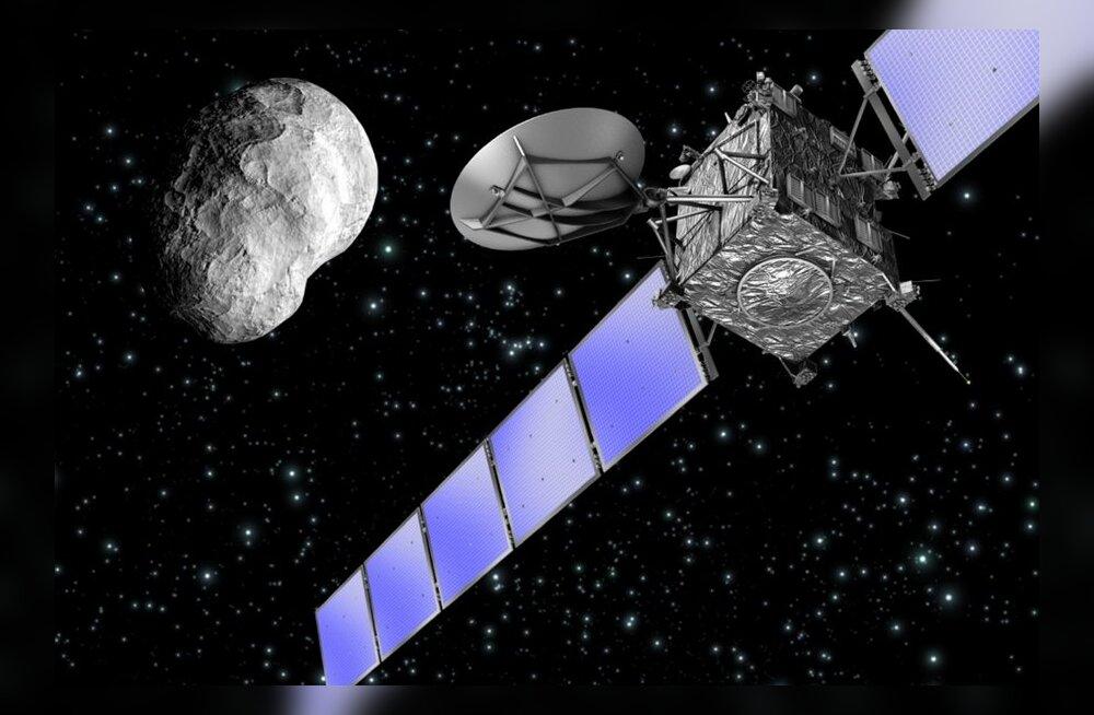 """Pikalt """"talveunes"""" viibinud sond Rosetta sõidab taas komeeti jälitama"""