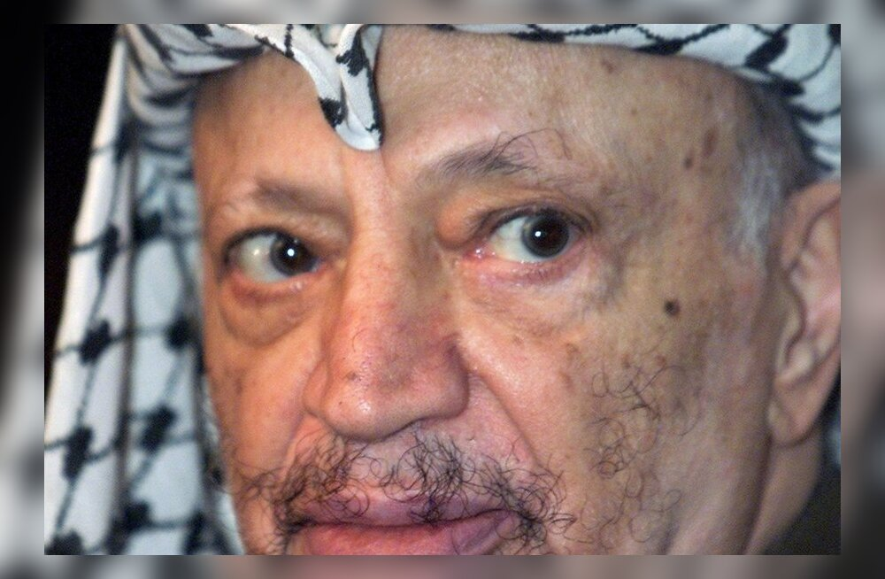 Prantsusmaa avas Arafati surma asjaolude uurimise