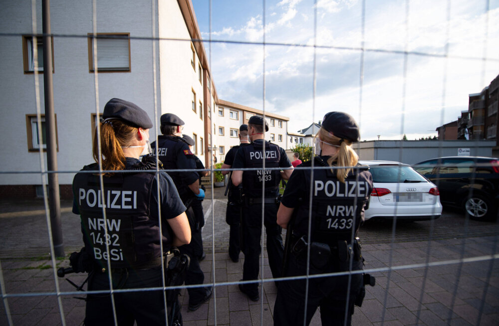Saksamaal Güterslohi linnas hakkasid seoses COVID-19 puhanguga kehtima uued piirangud