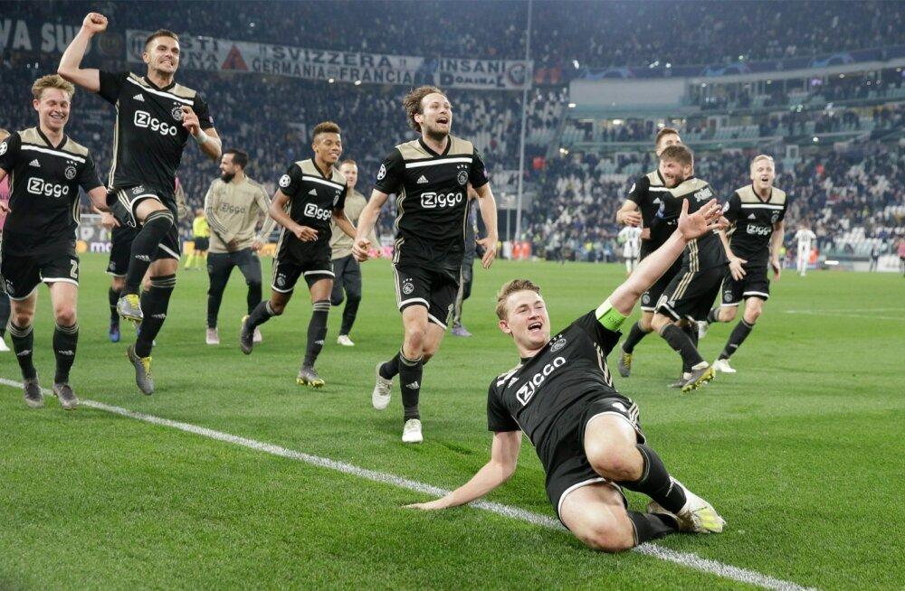 Amsterdami Ajaxi noored staarid vallutavad Euroopat.