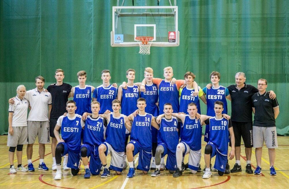 U18 korvpallikoondis