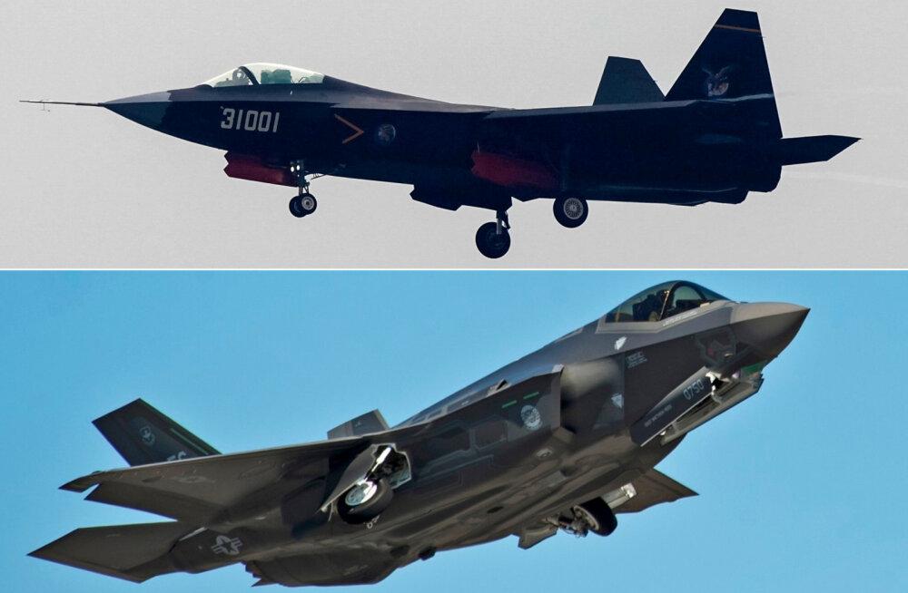 Hiina uus hävituslennuk: ameeriklaste F-35 hiinapärases kastmes
