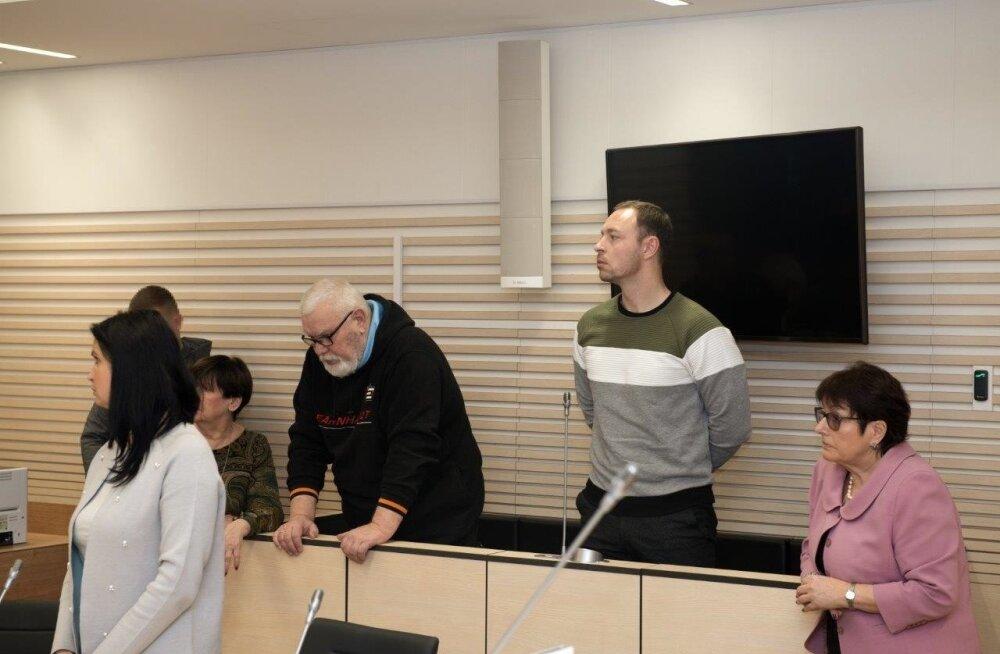 Deniss Metsavase ja tema isa Pjotr Volini riigireetmises süüdimõistmine Harju maakohtus