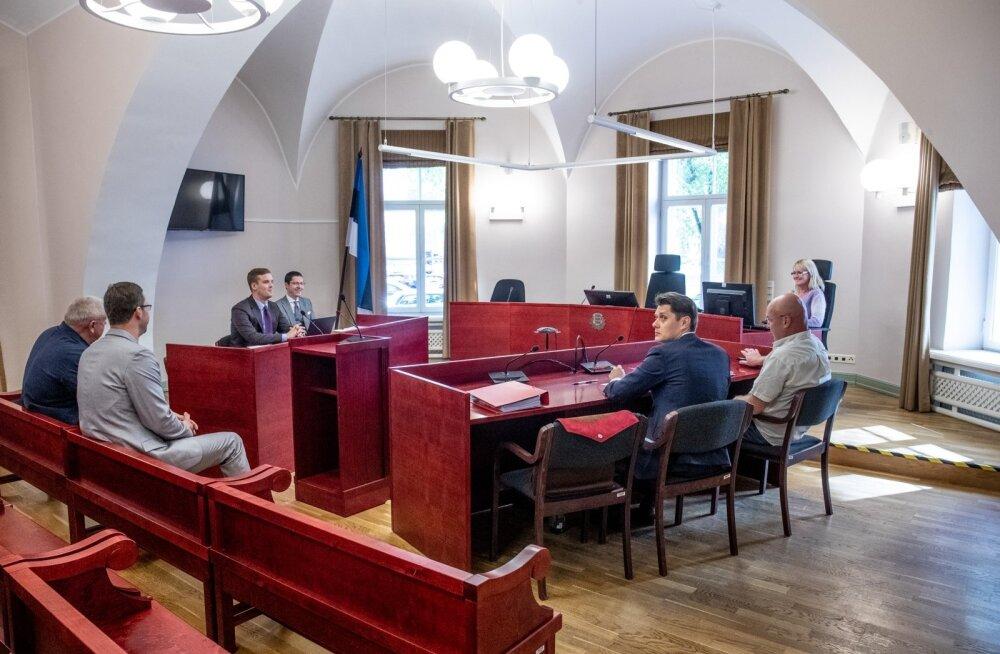 Tallinna halduskohus, loomingulised liidud kohtus