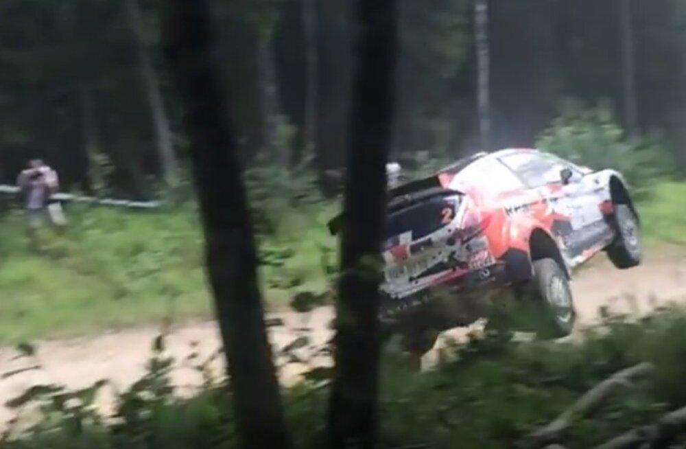 VIDEO: Jaapanlastest Lukjanukini: vaata lõppenud Rally Estonia suuremaid avariisid!