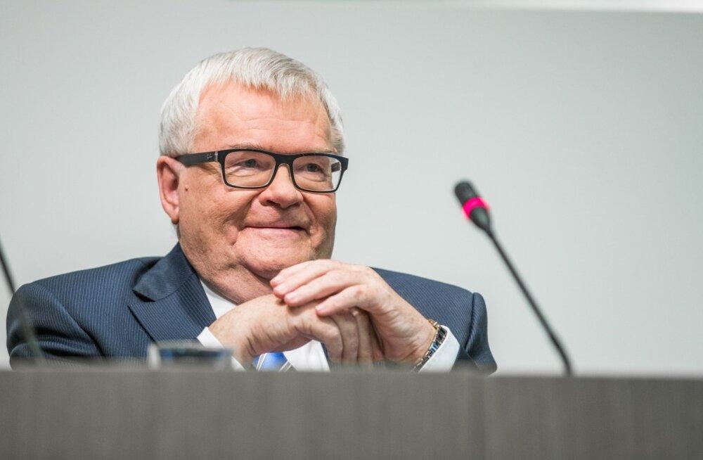 Edgar Savisaare ja Oudekki Loone pressikonverents