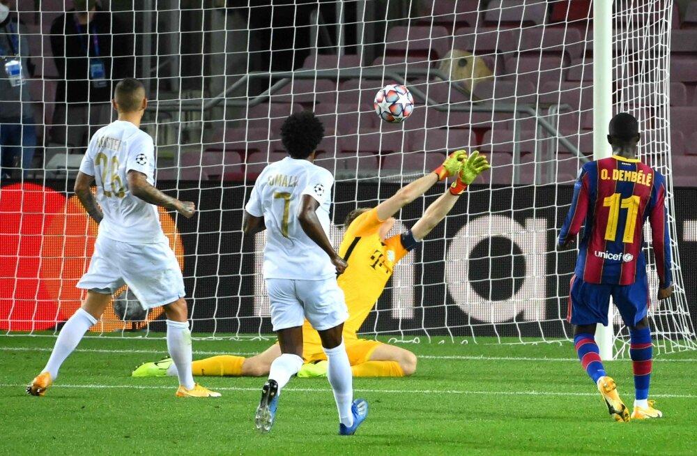 Ousmane Dembele lööb Ferencvarosele värava