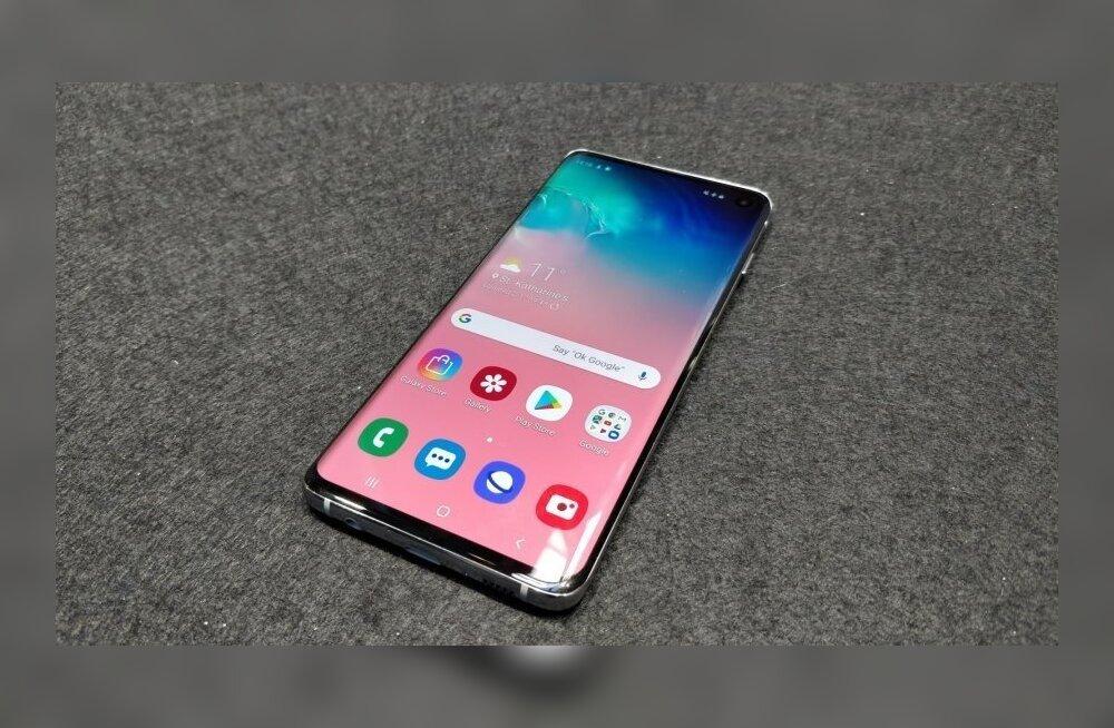 Samsung S10 seeria telefonid