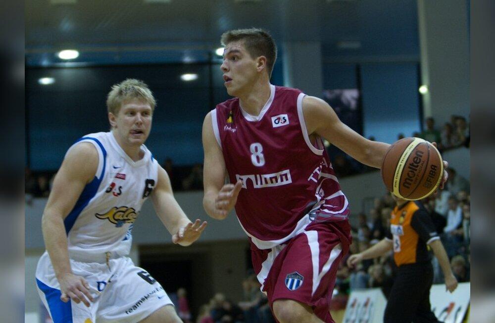 "Баскетбол: БК ""Калев/Крамо"" одержал третью победу в розыгрыше ББЛ"