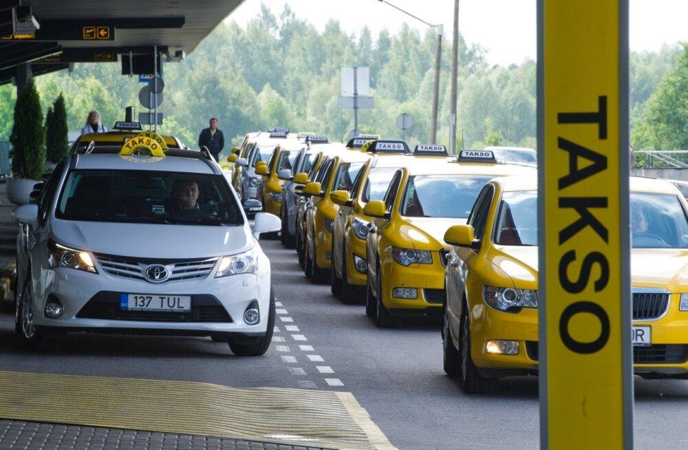Taksod Tallinna lennujaamas
