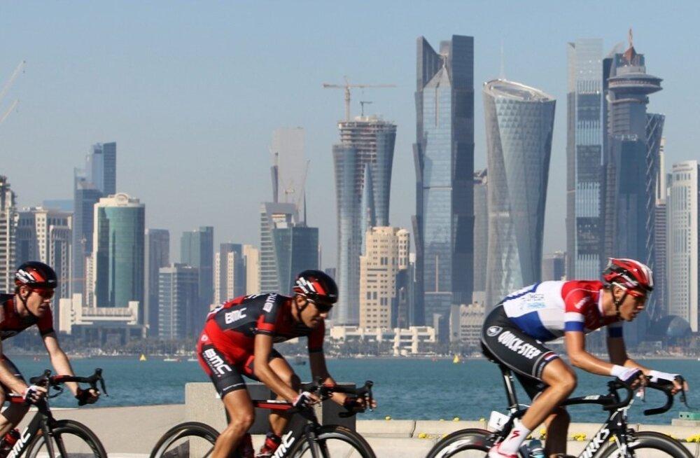Ratturid võistlemas Qatari velotuuril