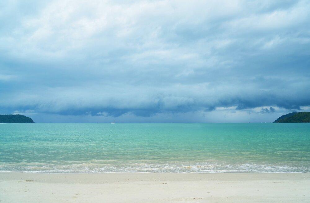 JUBE LEID | Meri uhtus Tai rannas puhkajate juurde midagi eriti õõvastavat