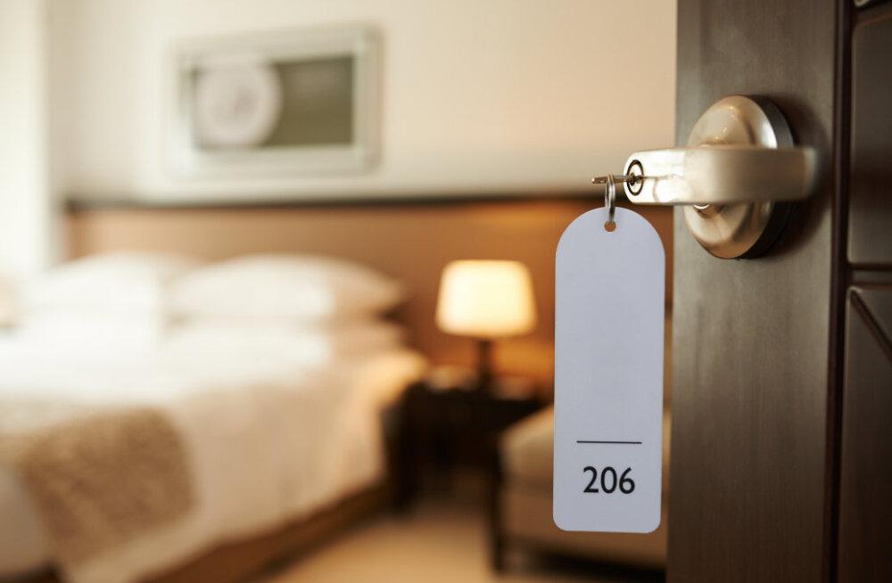 Hotellitubade kõige räpasemad kohad avastanud uuringu tulemus on üllatav