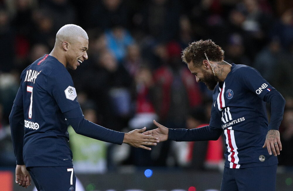 Kylian Mbappe ja Neymar