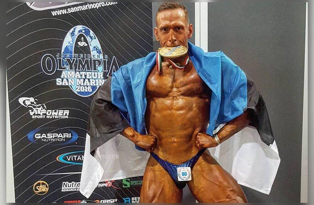 Ott Kiivikas võitis Mr. Olympialt kuldmedali