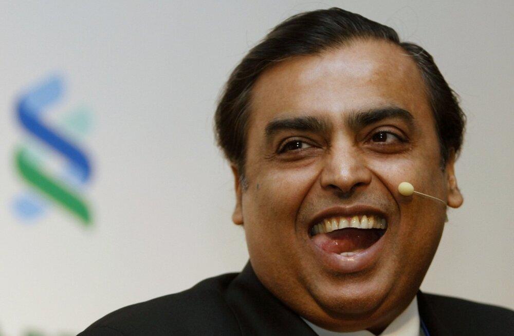 India suurim rikkur pakub miljardile kaasmaalasele tasuta kiiret 4G internetti