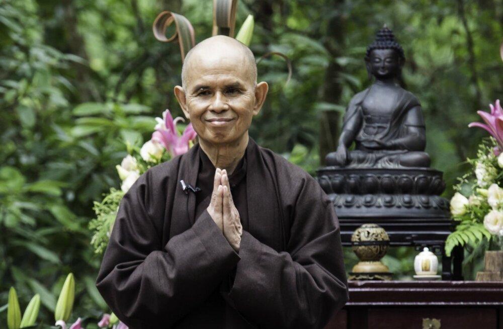 Thich Nhat Hanh: oma kannatused ja hirmud tuleb muuta taipamiseks