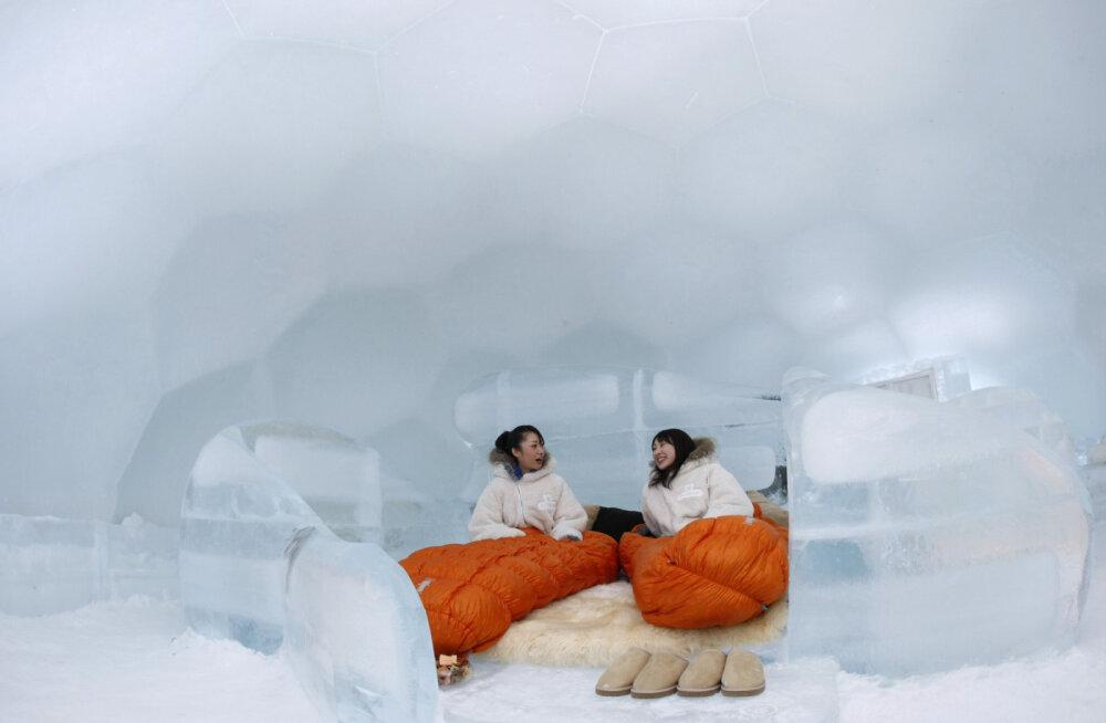 В Японии построят уникальную Ледяную деревню