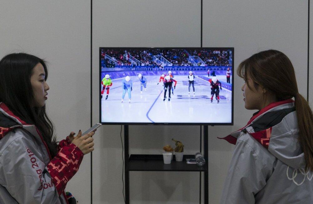 Pyeongchangi olümpia teleülekanne