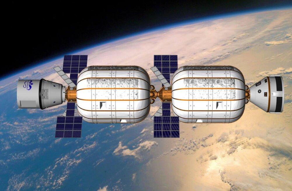 Kosmosehotell Maa orbiidil tahab turistidele mõne aasta pärast uksed avada