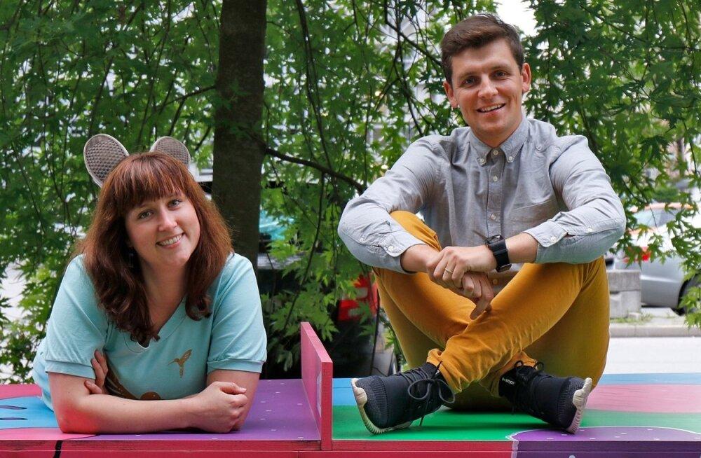 Heli Luik ja Martin Veisman lubavad olla televaatajale heaks hommikuseks kaaslaseks.