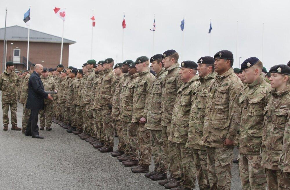 Британский майор в Эстонии: мы демонстрируем подход НАТО к немного изменившейся политической ситуации