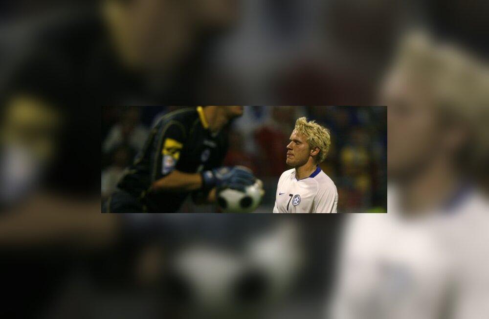 Ats Purje  mängus Bosniaga