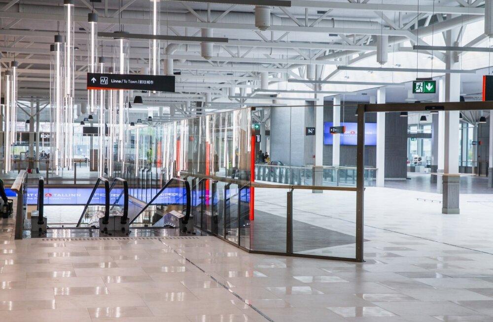 D-terminali uus osa avati