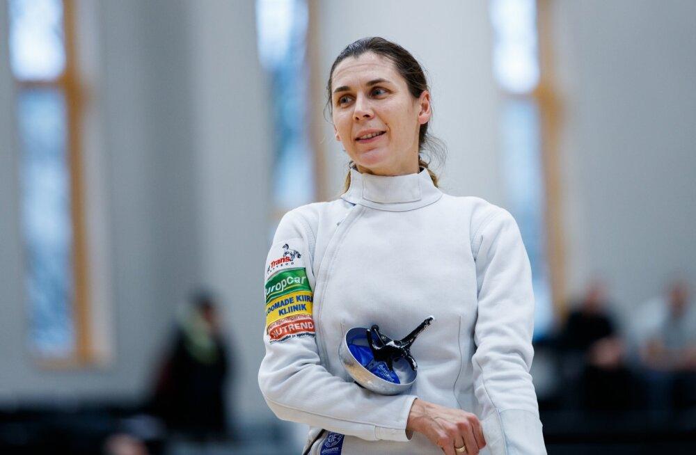 Irina Embrich võitleb olümpiakoha eest.