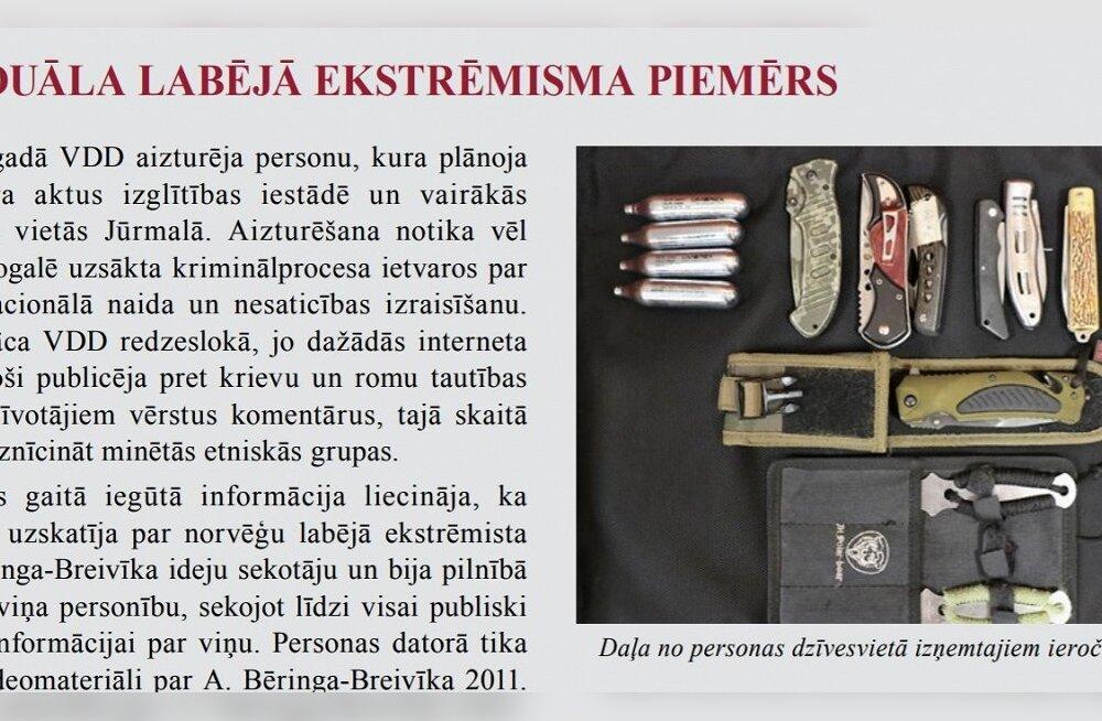 Läti julgeolekuteenistus nurjas mullu Breivikist inspireeritud paremäärmusliku terrorivandenõu