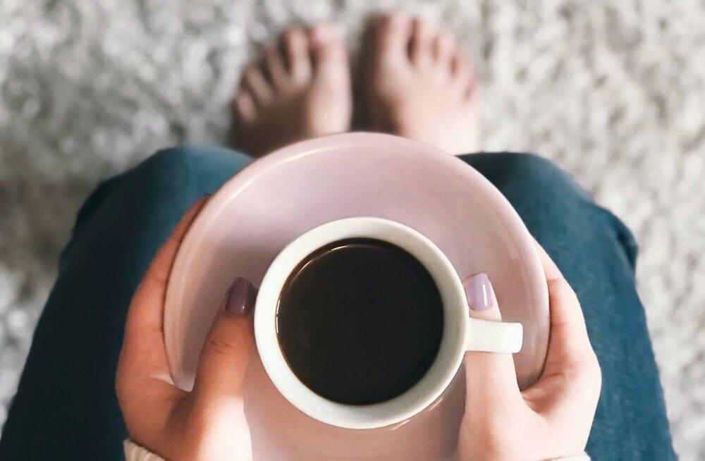 Head uudised kohvisõpradele: naistele on 2-3 tassi kohvi joomine päevas väga kasulik