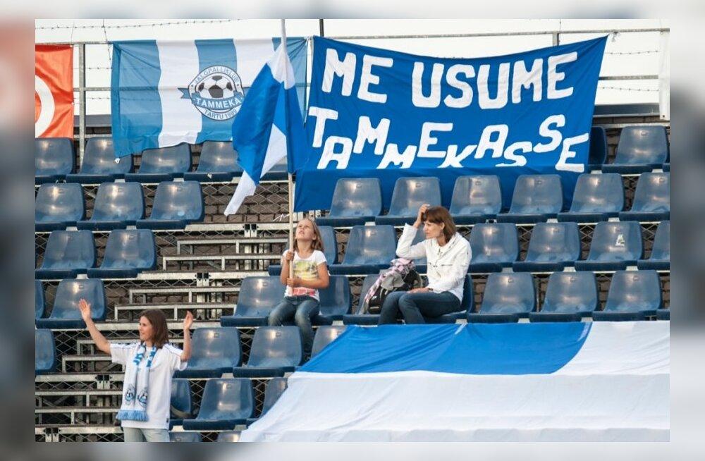 Tammeka jalgpall